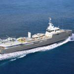 Яхта сопровождения 6711 успешно завершила ходовые испытания